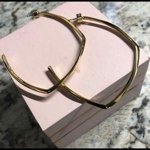 Michael Kors Gold goop earrings! Worn once